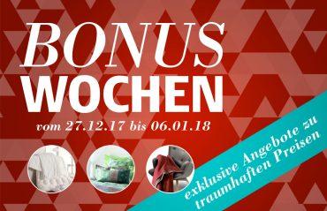 Bonuswochen 2017-18