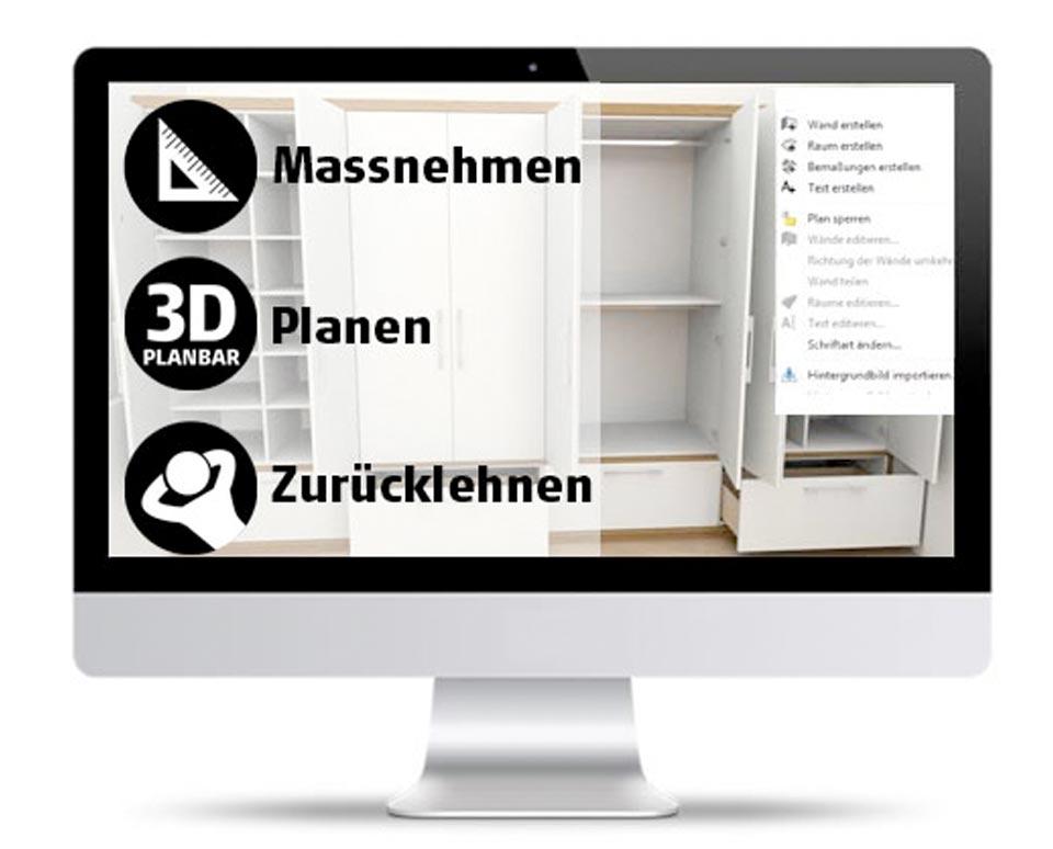 Planung 3d Schrank