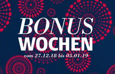 Bonuswochen 2018 Angebote zu freundlichen Preisen